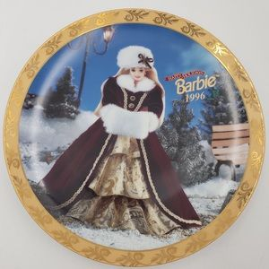 BARBIE Holiday collectors plate 1996